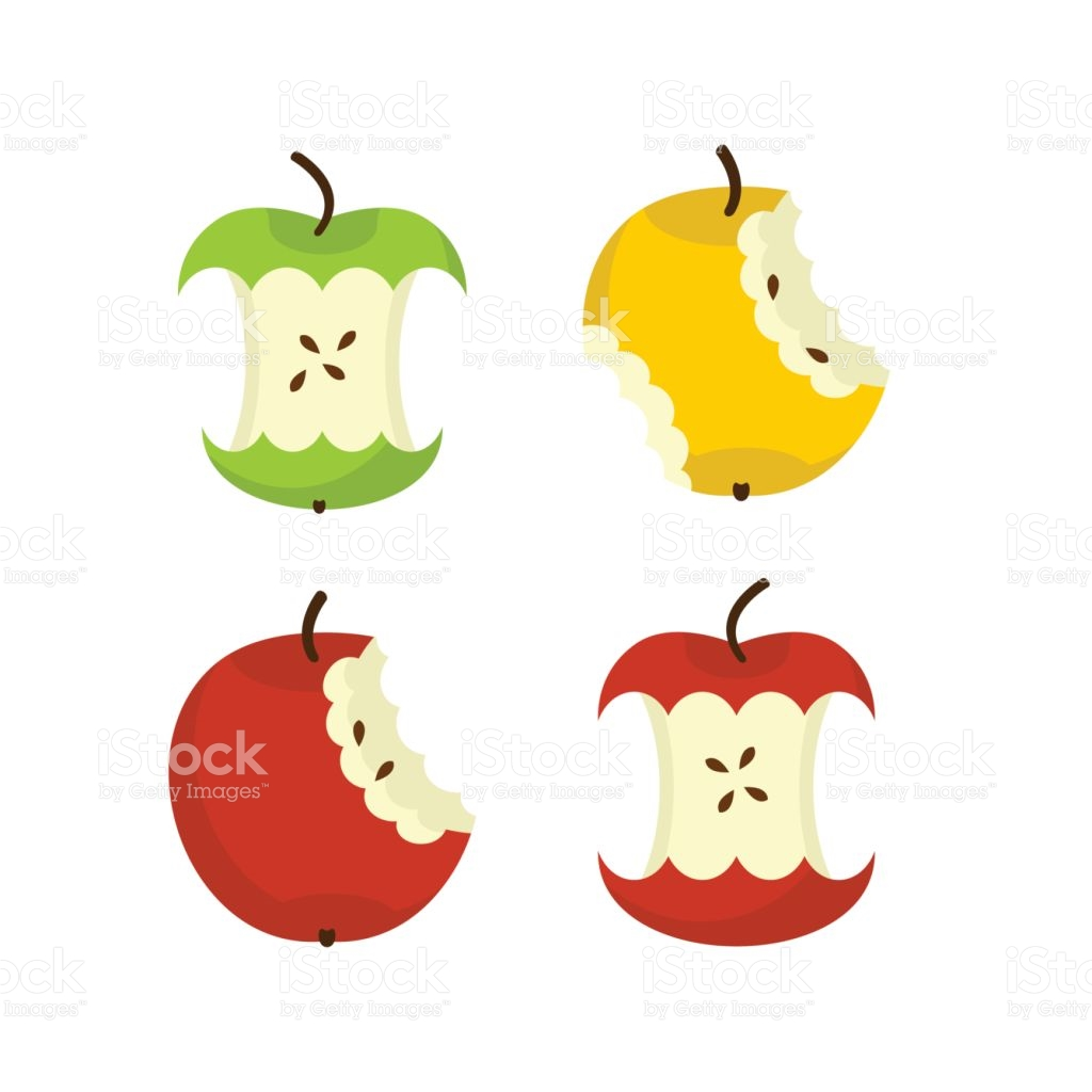 1024x1024 Trash Clipart Apple Core