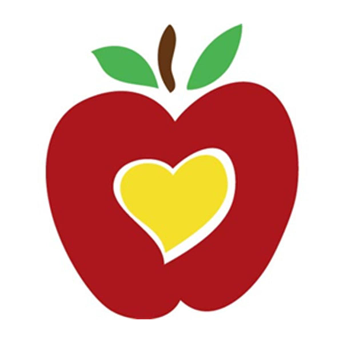 1200x1200 Apple Teacher Clipart