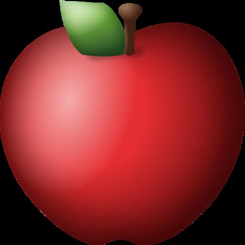 480x480 Download Red Apple Emoji Emoji Island