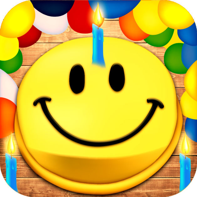 630x630 Animated 3d Birthday Emoji, Wishes, Cards Amp Emoticons On The App Store