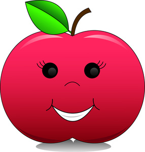 286x300 Apple Fruit Images Clip Art