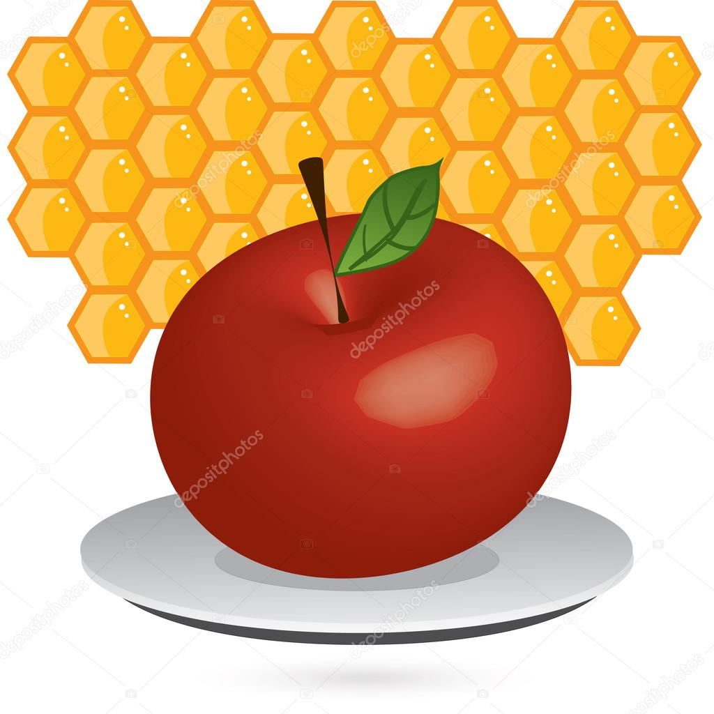 1024x1024 Fruit Clipart Apple Honey