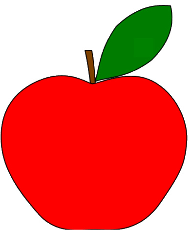 391x471 Graphics For Apple Fruit Clip Art Graphics