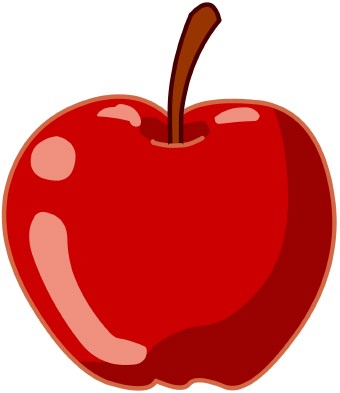 340x393 Apple Clip Art