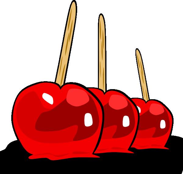 600x570 Candy Apple Clip Art Clipart