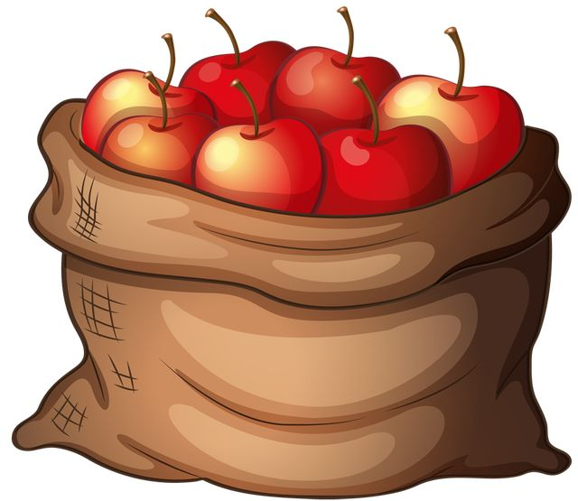 640x555 Fall Apples Cliparts
