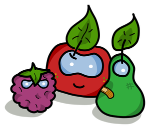 300x259 971 Apple Fruit Images Clip Art Public Domain Vectors