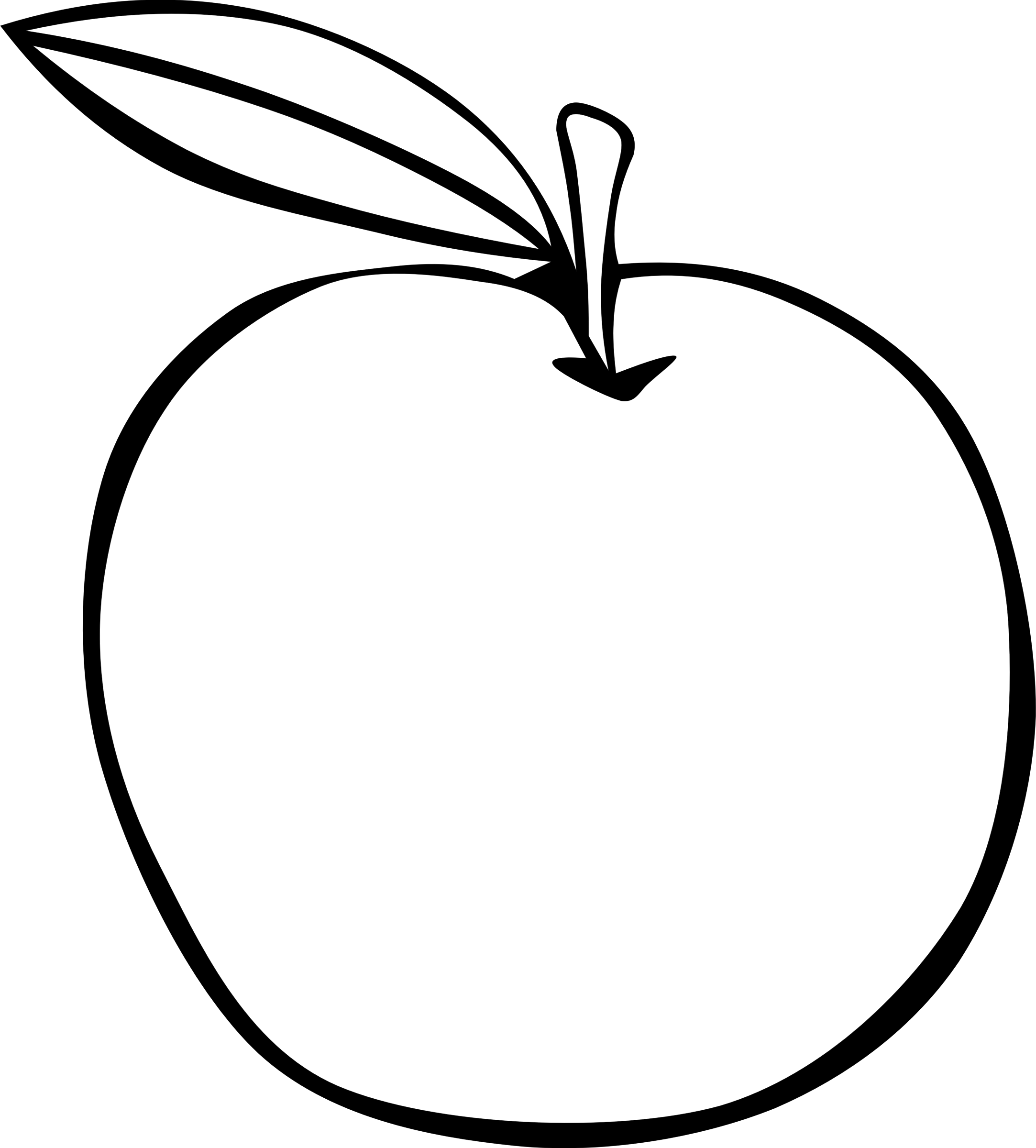 2166x2400 Apple Clipart, Suggestions For Apple Clipart, Download Apple Clipart