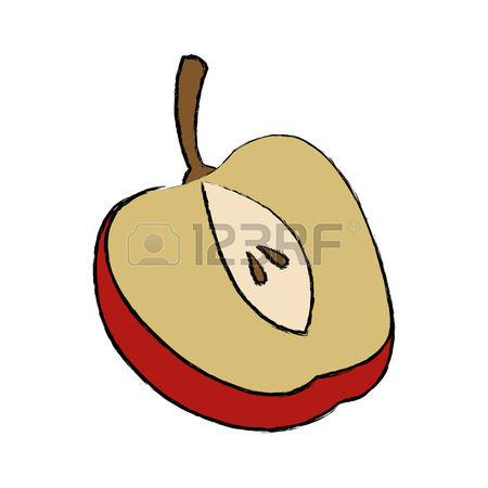 Apple Slice Clipart