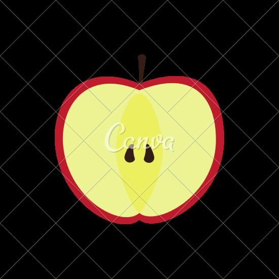 550x550 Apple Slice Healthy Fruit Icon
