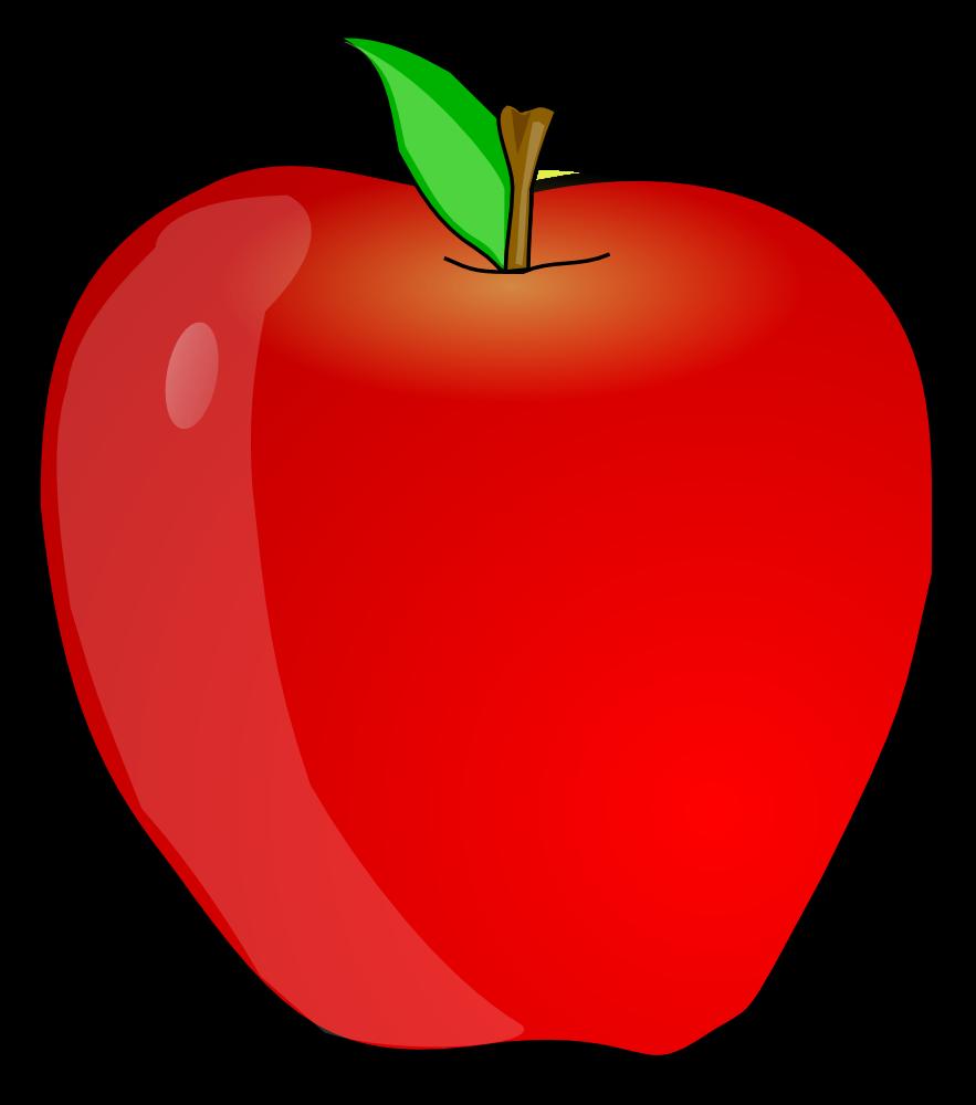 883x1000 Clip Art Apple Cliparts