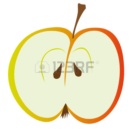 450x450 3,807 Cut Apples Stock Vector Illustration And Royalty Free Cut