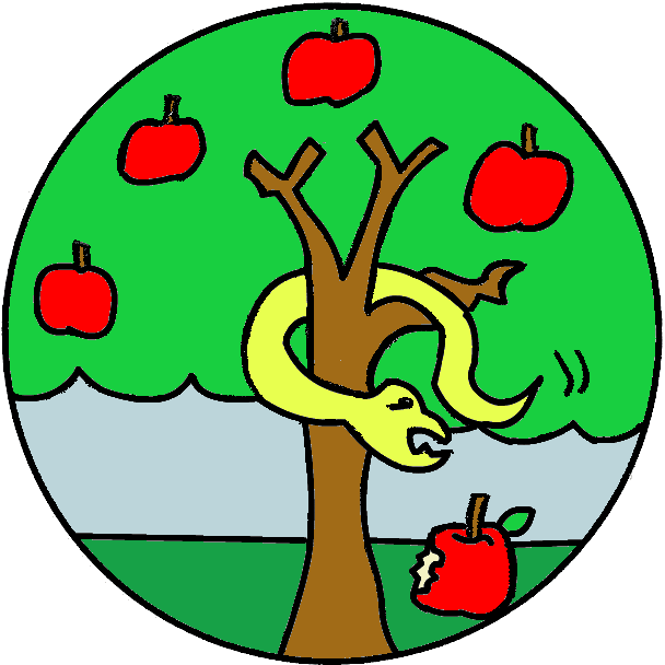 608x608 Apple Tree Clipart