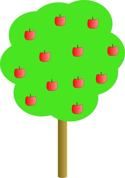 420x595 Apple Tree Clip Art Free Vector In Open Office Drawing Svg ( Svg