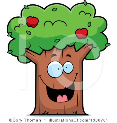 400x420 Bare Apple Tree Clipart Clipart Panda