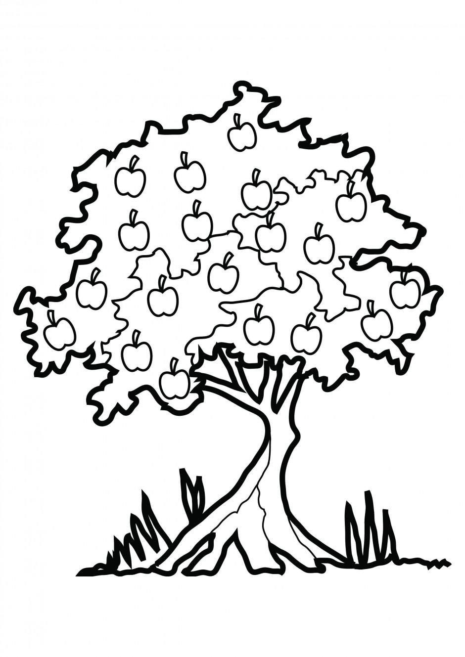 940x1329 Free Printable Apple Clip Art