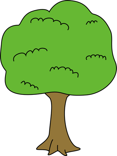 375x500 Image Of Tree Clipart