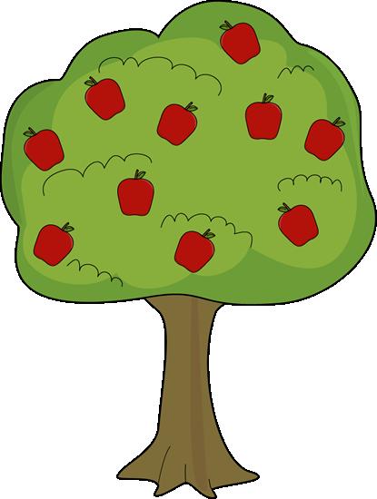 415x550 Red Apple Tree Clip Art