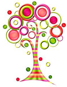 236x304 Retro Tree Clipart Clip Art, Vintage Trees Clip Art Clipart
