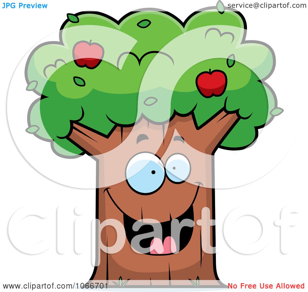 1080x1024 apple tree clip art