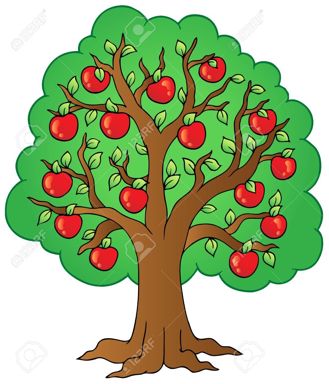 1114x1300 apple tree clip art – Cliparts
