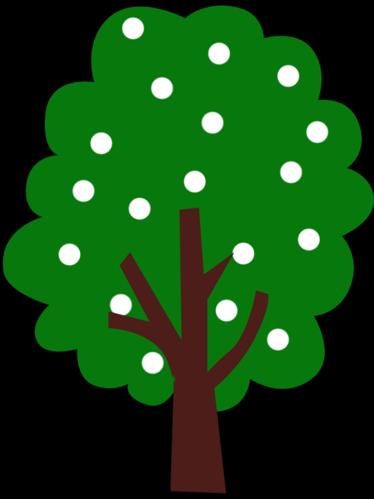 768x1024 Green Apple Tree Clipart Clipart Panda Free Clipart Imagestop 10