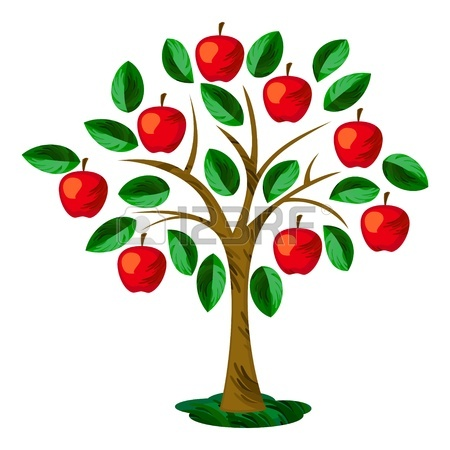 450x450 Apple Tree Clip Art Chadholtz