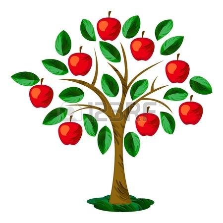 450x450 Apple Tree Clip Art Chadholtz