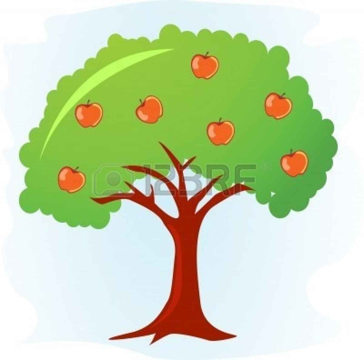 Apple Tree Drawing   Free download best Apple Tree Drawing on ...