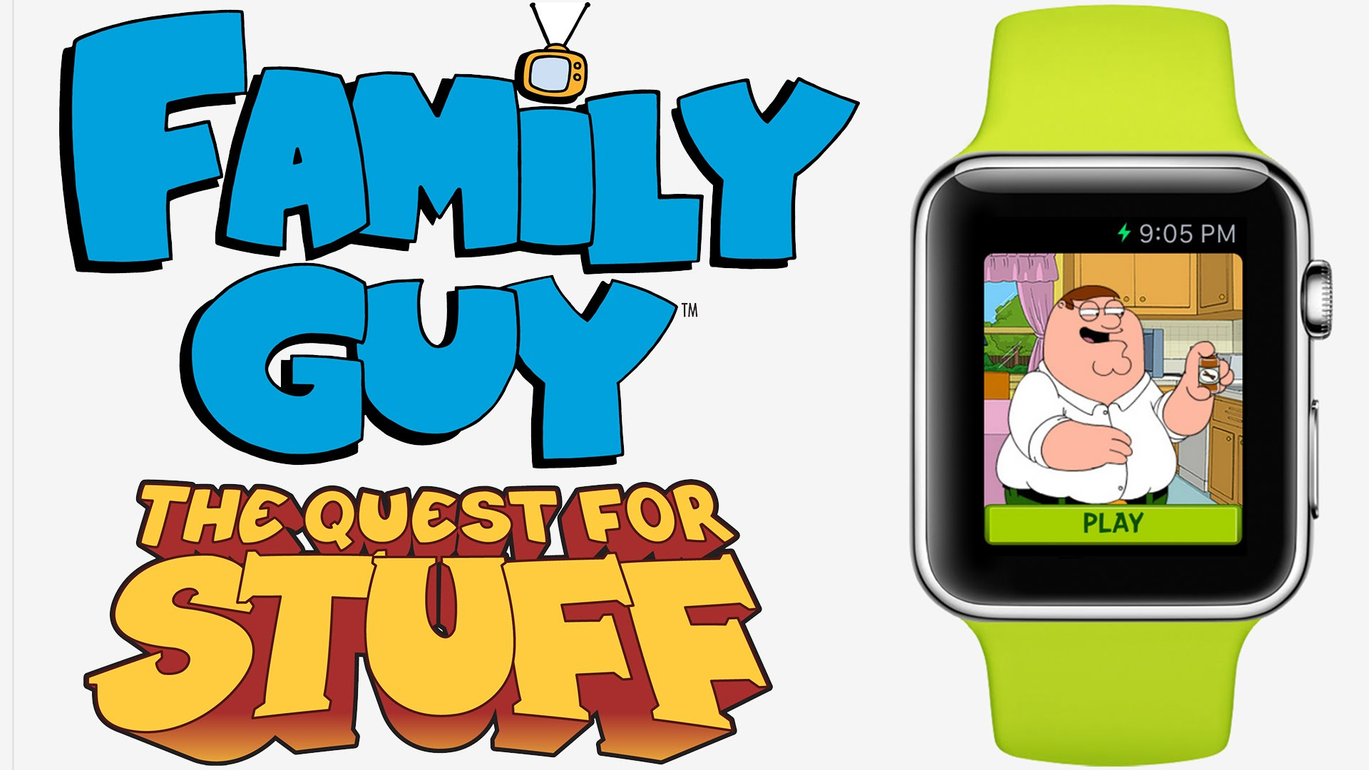 1920x1080 Apple Watch Family Guy Quest For Stuff (Image Preview)