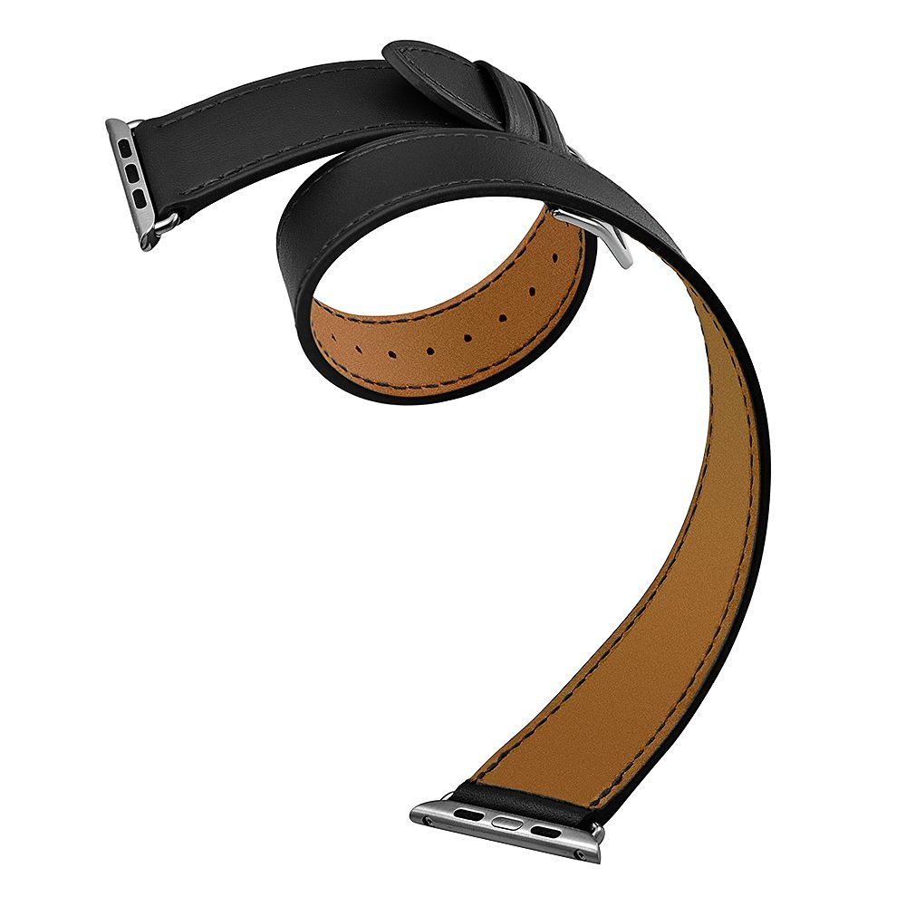 1000x1000 Crested Genuine Leather Band For Apple Watch Band 42mm 38mm Watch