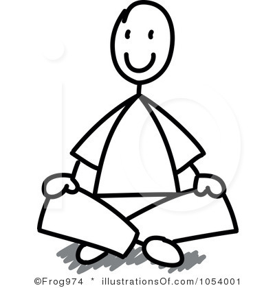400x420 Sitting Clipart Sitting On Floor Clipart