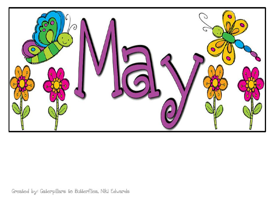 929x689 May Calendar Heading Clipart Clip Art Library
