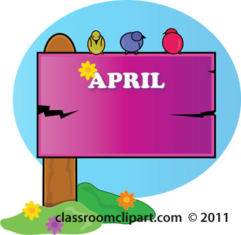350x341 April Clip Art Clipart 2 Image