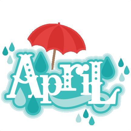 432x432 Free April Clip Art