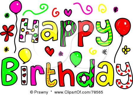 450x322 Free April Birthdays Clipart
