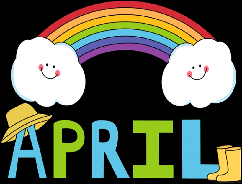 820x625 April Showers Bring May Flowers Clip Art Clipart Panda Free Within