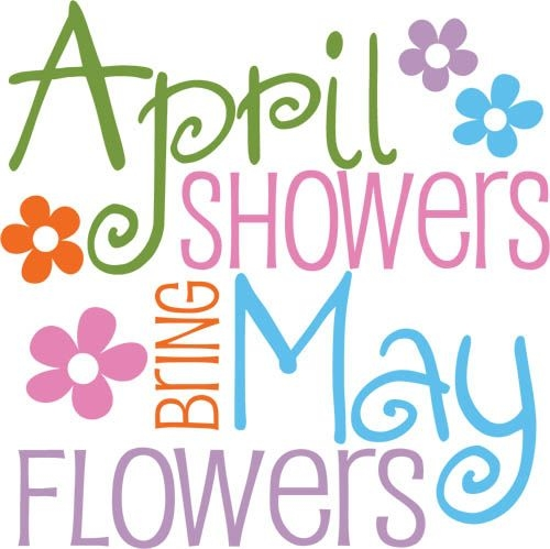 500x499 April Flowers Clip Art April Flowers April Showers Free Clipart