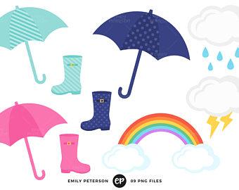340x270 Rain Boots Clip Art Etsy