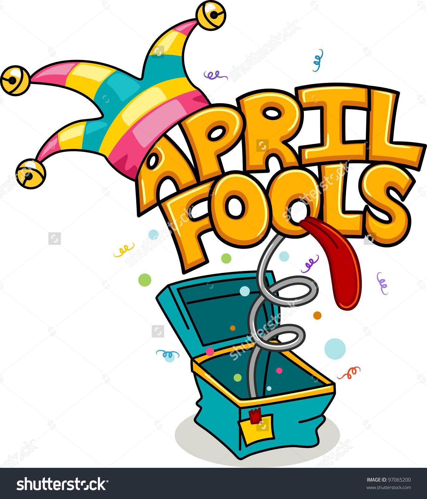 1370x1600 Girl April Fools Day Clipart