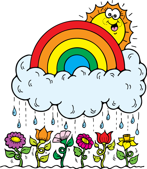 590x679 April Showers Clip Art Free Clipart Wikiclipart