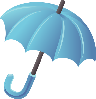 391x400 April Showers Clip Art Images Umbrella And Clouds