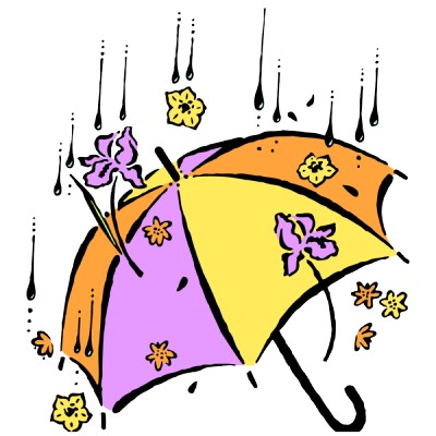 400x400 Spring Showers Clipart