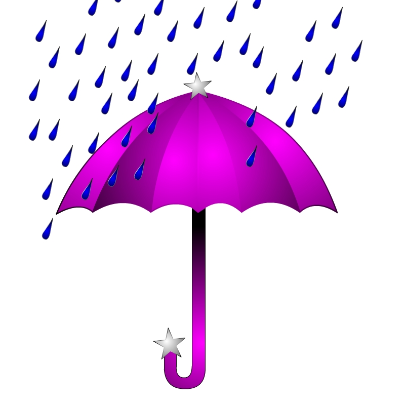 800x800 Umbrella Clipart April Shower