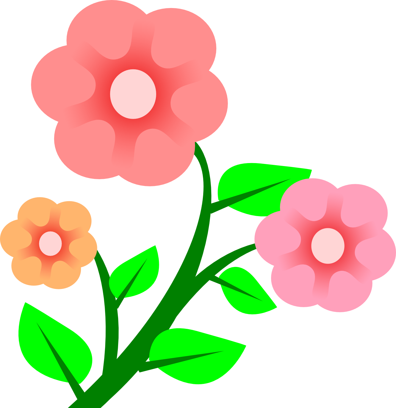 1331x1371 Flowers And Clipart
