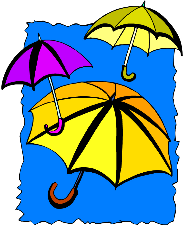 750x942 Printable April Showers Clipart