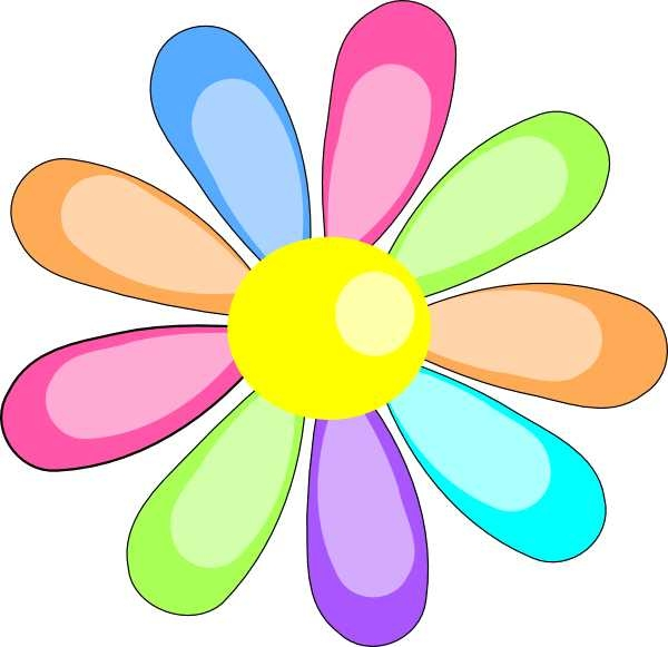 600x581 Top 10 May Flowers Clip Art