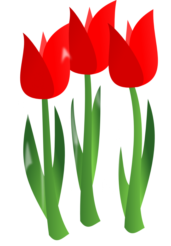714x1024 April Flower Clipart