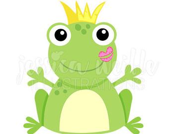340x270 Frog Clip Art Etsy