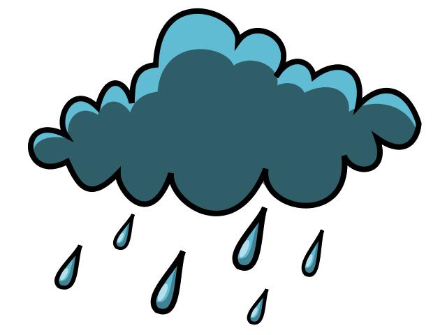 640x480 Shower Clipart Rain Cloud